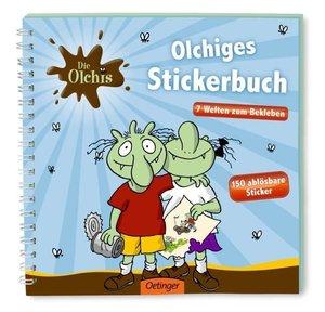 Die Olchis Stickerbuch
