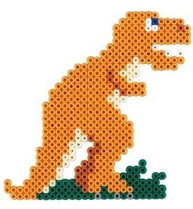 Hama 3434 - Bügelperlen Dinosaurier