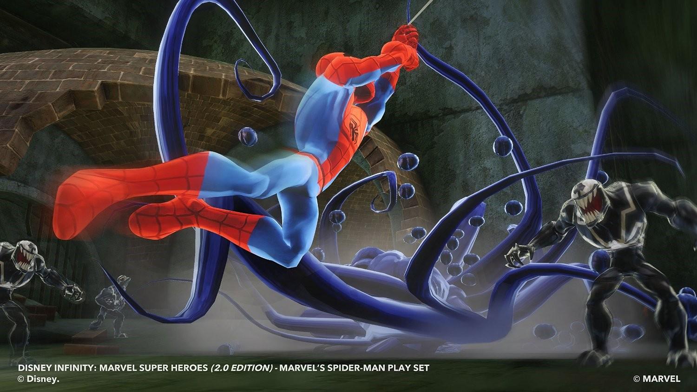 Disney Infinity 2.0 - Playset Marvel Super Heroes - Spider-Man ( - zum Schließen ins Bild klicken