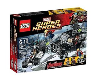 LEGO® Super Heroes 76030 - Avengers Duell mit Hydra