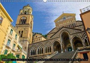 Amalfi Coast and Campania (Wall Calendar 2016 DIN A3 Landscape)