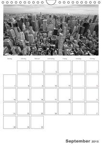 Viola, M: NEW YORK Skylines (Wandkalender 2015 DIN A4 hoch)