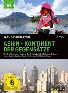 Asien - Kontinent der Gegensätze. 360° - GEO Reportage