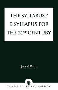 Syllabus/E-Syllabus for the 21st Century