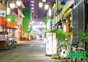 Tokio: Lichter einer Stadt