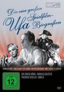 Die vier großen UFA Spielfilm-Biografien