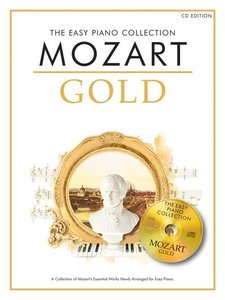 THE EASY PIANO COLLECTION MOZART GOLD EASY PIANO BOOK/CD