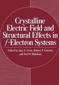 Crystalline Electric Field and Structural Effects in f-Electron