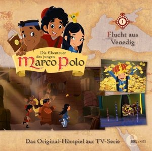 (1)Original Hörspiel z.TV-Serie-Flucht Aus Venedig
