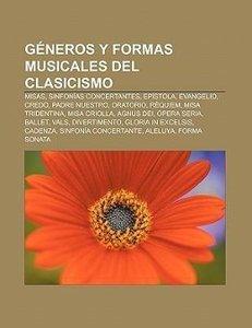 Géneros y formas musicales del Clasicismo