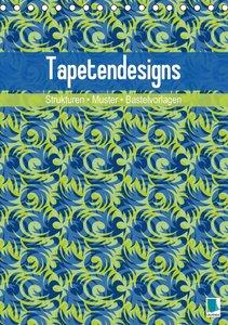 Tapetendesigns - Strukturen, Muster und Bastelvorlagen (Tischkal