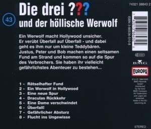 Die drei ??? 043 und der höllische Werwolf. (drei Fragezeichen).