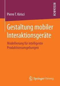 Gestaltung mobiler Interaktionsgeräte