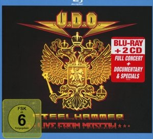 Steelhammer-Live From Moscow (Blu-Ray+2CD Digipa