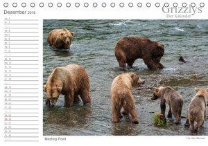 Grizzlys - Der Kalender (Tischkalender 2016 DIN A5 quer)