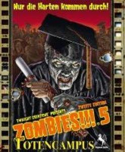 Pegasus Spiele 54140G - Zombies!!! 5: Totencampus