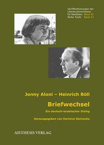 Briefwechsel Jenny Aloni - Heinrich Böll