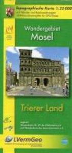 Trierer Land 1 : 25 000. Wanderkarte