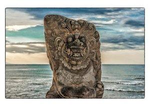 Bali Insel der Götter und Dämonen (Posterbuch DIN A2 quer)