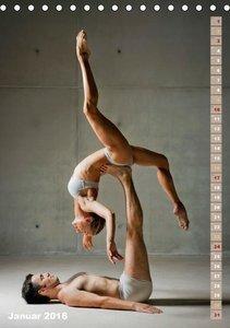 Schwereloser Kraftakt -Ballett (Tischkalender 2016 DIN A5 hoch)