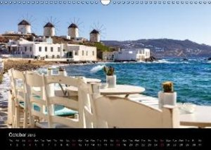 The Cyclades (Wall Calendar 2015 DIN A3 Landscape)