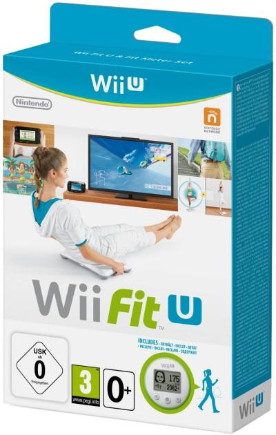 Wii Fit U inkl. Fit Meter - zum Schließen ins Bild klicken