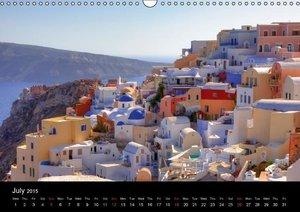 The Cyclades (Wall Calendar 2015 DIN A3 Landscape)