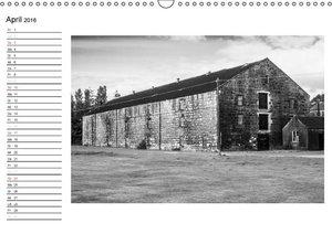 Schottland in Schwarz-Weiß (Wandkalender 2016 DIN A3 quer)