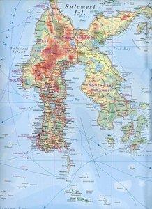 Indonesia ( Indonesien) 1 : 2 400 000