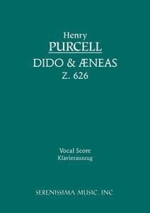 Dido and Aeneas, Z. 626 - Vocal Score
