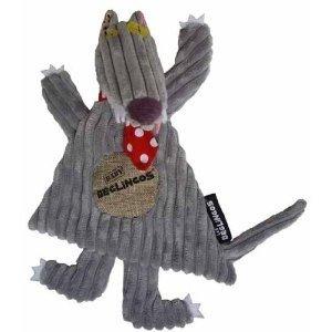 Les Deglingos 36700 - Schmusetuch: BigBos Wolf
