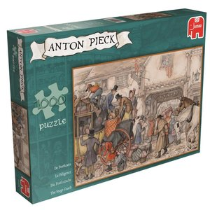 Anton Pieck - Die Kutsche - 1000 Teile