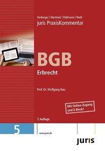 juris Praxiskommentar BGB 05 Gesamtausgabe / Erbrecht