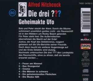 Die drei ??? 080. Geheimakte Ufo. (drei Fragezeichen). CD