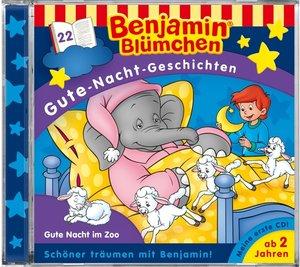 Benjamin Blümchen Gute-Nacht-Geschichten 22. Gute Nacht im Zoo