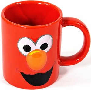 United labels 0121015 - Sesamstraße, Tasse, Elmo, 320 ml