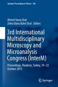3rd International Multidisciplinary Microscopy and Microanalysis