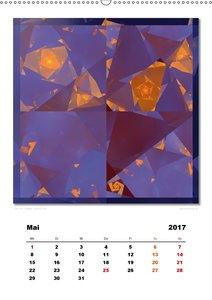Ästhetisches Chaos - Wandlungen (Wandkalender 2017 DIN A2 hoch)