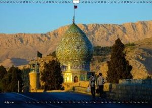 A journey through Iran (Wall Calendar 2015 DIN A3 Landscape)