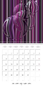 Playing with Colours (Wall Calendar 2015 300 × 300 mm Square)