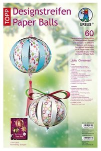 """Paperballs-Weihnachts-Set 6 """"Jolly Christmas"""""""