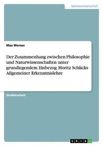 Der Zusammenhang zwischen Philosophie und Naturwissenschaften un
