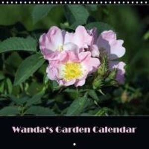 Wanda\'s Garden Calendar (Wall Calendar 2015 300 × 300 mm Square