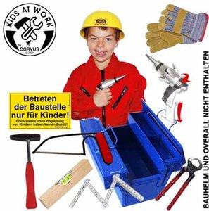 Corvus A600110 - Kids at work: Werkzeugset Box 01, 9teilig
