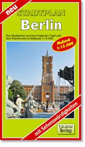 Berlin Stadtplan 1 : 15 000