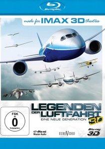 IMAX(R): Legenden der Luftfahrt 3D (Blu-ray 3D)