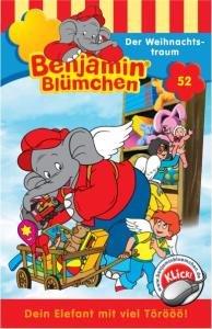 Benjamin Blümchen 052. Der Weihnachtstraum. Cassette
