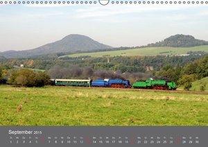 Heinzke, R: Eisenbahn Kalender 2015 - Oberlausitz und Nachba