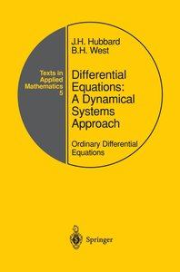 Differential Equations: A Dynamical Systems Approach