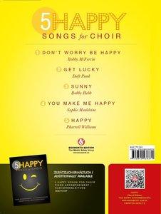5 Happy Songs For Choir SAB (Einzel-Gesangspartitur)